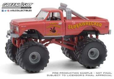 GreenLight-Collectibles-Kings-of-Crunch-Series-8-Superwrecker-1968-Chevrolet-K-10-Monster-Truck