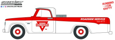 GreenLight-Collectibles-Running-on-Empty-11-1965-Dodge-D-100-Conoco-Roadside-Service