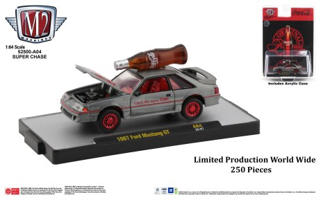 M2-Machines-Coca-Cola-1987-Ford-Mustang-GT-Super-Chase