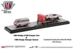 M2-Machines-Coca-Cola-Auto-Haulers-1964-Dodge-A100-Camper-Van-1966-Dodge-Charger-Gasser-Coca-Cola-Chase