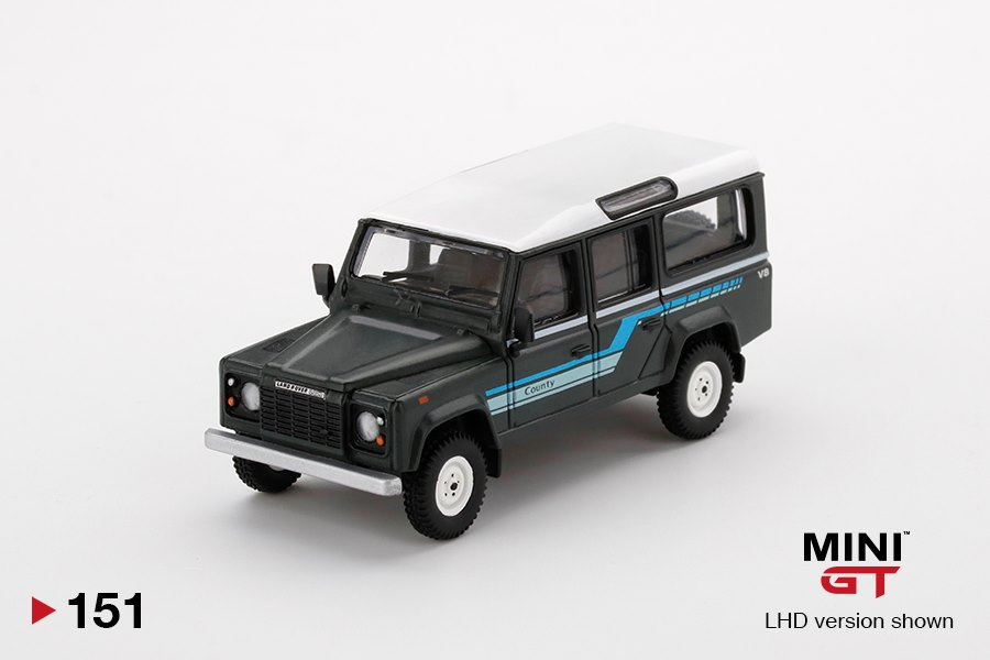 Mini-GT-Land-Rover-Defender-110-1985-County-Station-Wagon-Grey-001