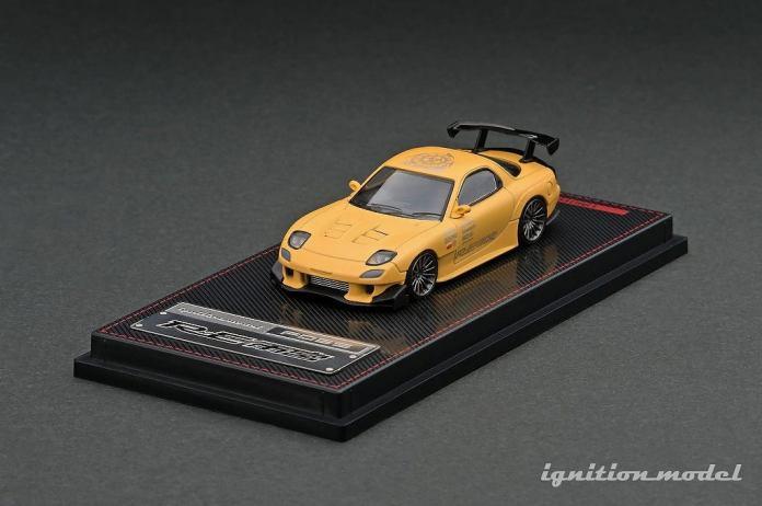 Ignition-Model-Mazda-RX-7-FD3S-RE-Amemiya-jaune-001