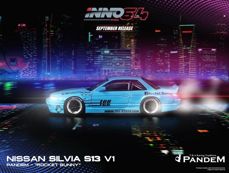 Inno-64-Nissan-Silvia-S13-Pandem-Rocket-Bunny-V1-001