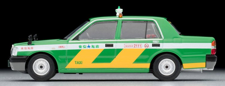 Tomica-Limited-Vintage-Neo-Toyota-Crown-Comfort-Tokyo-Musen-Taxi-Green-005