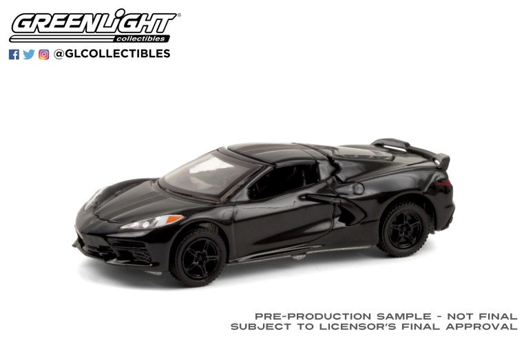 GreenLight-Collectibles-Black-Bandit-24-2020-Chevrolet-Corvette-C8-Stingray