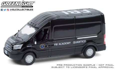 GreenLight-Collectibles-Route-Runners-2-GreenLight-Collectibles-Route-Runners-2-2015-Ford-Transit-FBI-Academy-Quantico