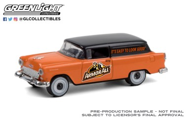 GreenLight-Collectibles-Running-on-Empty-11-1955-Chevrolet-Sedan-Delivery-Armor-All