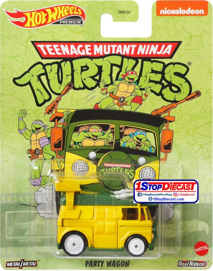 Hot-Wheels-Replica-Entertainment-Case-T-Party-Wagon-Teenage-Mutant-Ninja-Turtles