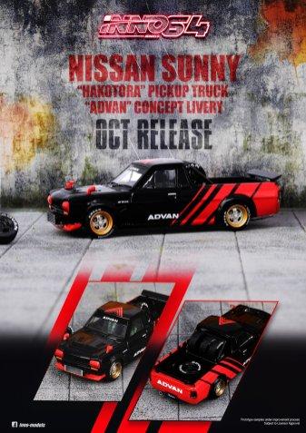 Inno64-Nissan-Sunny-Hakotora-Pickup-Truck-Advan
