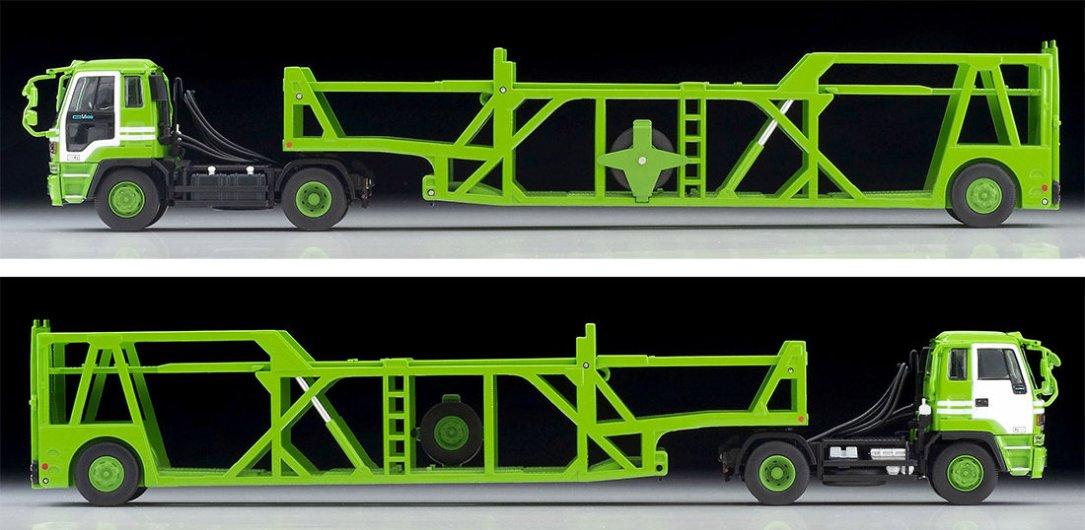 Tomica-Limited-Vintage-Neo-Isuzu-810EX-Car-Transporter-Vert-003