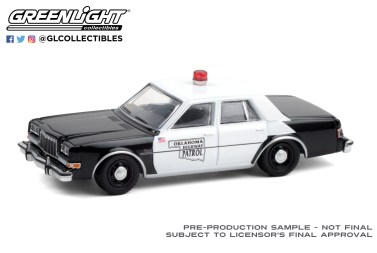 GreenLight-Collectibles-Hot-Pursuit-36-1985-Dodge-Diplomat-Oklahoma-Highway-Patrol