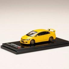 Hobby-Japan-Minicar-Project-Honda-Civic-Type-R-FD2-Sunlight-Yellow-001