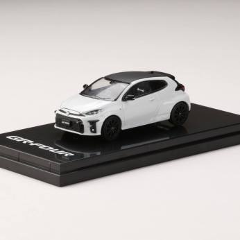 Hobby-Japan-Minicar-Project-Toyota-GR-YARIS-RZ-High-performance-Platinum-White-Pearl-Mica-001