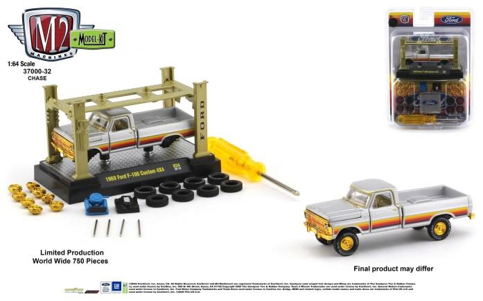 M2-Machines-Model-Kit-34-1969-Ford-F-100-Custom-4x4-Chase
