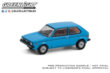 GreenLight-Collectibles-Club-V-Dub-12-1977-Volkswagen-Rabbit-Miami-Blue