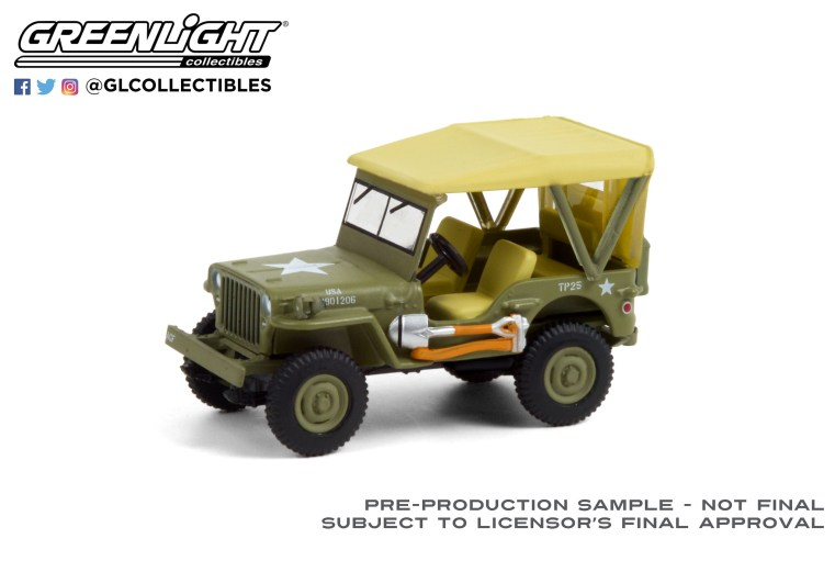 GreenLight-Collectibles-Anniversay-Collection-12-1940-Willys-MB-Jeep
