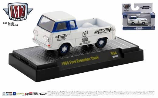 M2 Machines-Auto-Trucks-Detroit-Muscle-Release-54-1965-Ford-Econoline-Truck-Mr-Gasket