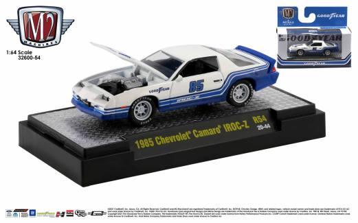 M2 Machines-Auto-Trucks-Detroit-Muscle-Release-54-1985-Chevrolet-Camaro-Iroc-Z-Goodyear