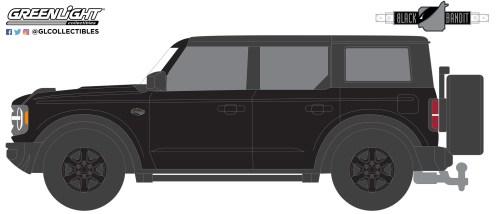 GreenLight-Collectibles-Black-Bandit-Series-25-2021-Ford-Bronco-Wildtrak