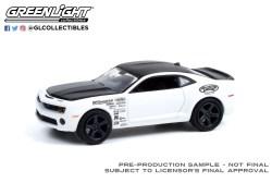 GreenLight-Collectibles-Detroit-Speed-Inc-2-2012-Chevrolet-Camaro-Test-Car-White-Monster