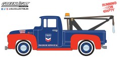 GreenLight-Collectibles-Running-on-Empty-Series-13-1954-Ford-F-100-Drop-in-Tow-Hook-Standard-Oil-Company-Roadside-Service