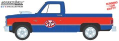 GreenLight-Collectibles-Running-on-Empty-Series-13-1987-Chevrolet-Silverado-Blown-Engine-STP