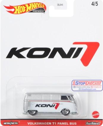 Hot-Wheels-Premium-Pop-Culture-Speed-Shop-Garage-Volkswagen-T1-Panel-Bus-Koni