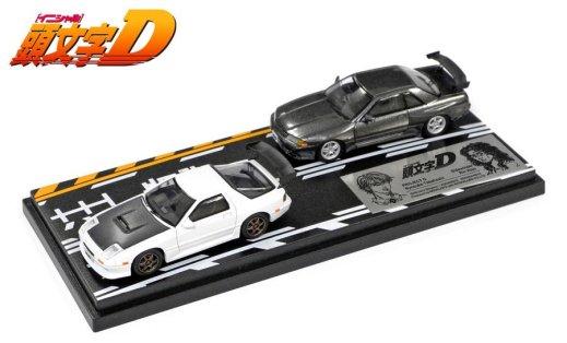 Inter-Allied-Initial-D-Set-Vol-2-RX-7-FC3S-Skyline-GT-R-R32-001