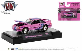 M2-Machines-All-Pink-Collection-1987-Ford-Mustang-GT
