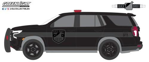 reenLight-Collectibles-Black-Bandit-Series-25-2021-Chevrolet-Tahoe-Black-Bandit-Police