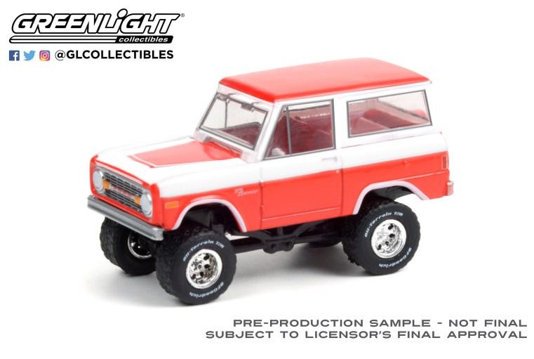 GreenLight-Collectibles-Barrett-Jackson-Series-7-1977-Ford-Bronco-Custom
