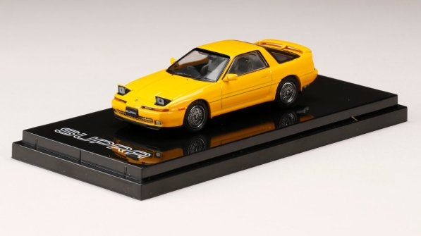 Hobby-Japan-Hobby-Japan-Toyota-Supra-A70-Twin-Turbo-R-Customize-Version-Yellow-001