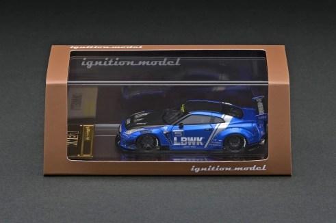 Ignition-Model-Resin-LB-Works-Nissan-GT-R-R35-type-2-Blue-003