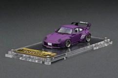 Ignition-Model-Resin-Porsche-RWB-993-Matte-Purple-001