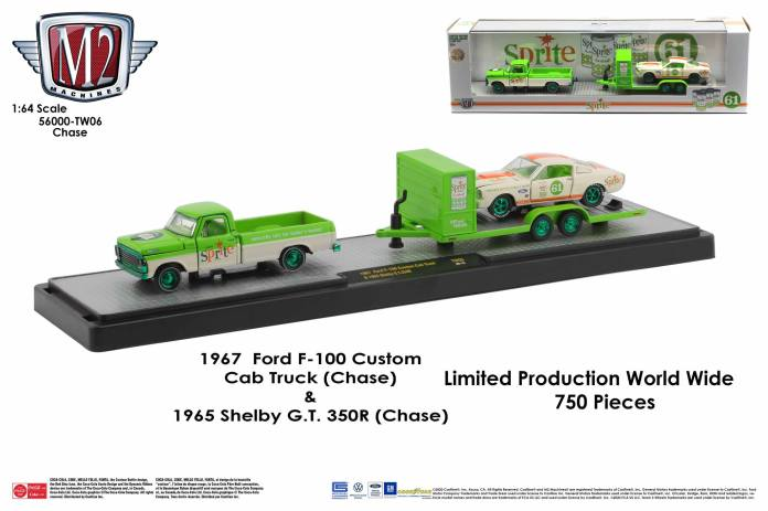 M2-Machines-Coca-Cola-Auto-Haulers-Ford-F-100-Shelby-GT-350R-Chase