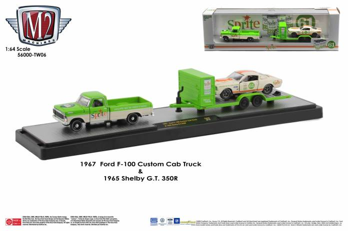 M2-Machines-Coca-Cola-Auto-Haulers-Ford-F-100-Shelby-GT-350R