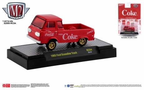 M2-Machines-Coca-Cola-Series-1965-Ford-Econoline-Truck-Coca-Cola