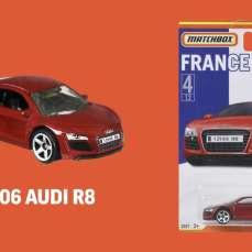 Matchbox-2021-Best-of-France-2006-Audi-R8