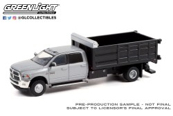 GreenLight-Collectibles-Dually-Drivers-Series-8-2018-Ram-3500-Dually-Landscaper-Dump-Truck