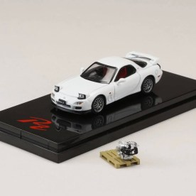 Hobby-Japan-Minicar-Project-Mazda-RX-7-FD3S-RZ-White