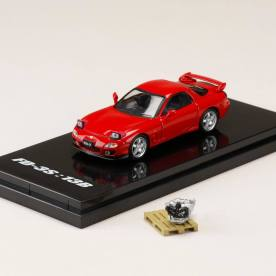 Hobby-Japan-Minicar-Project-Mazda-RX-7-FD3S-Red