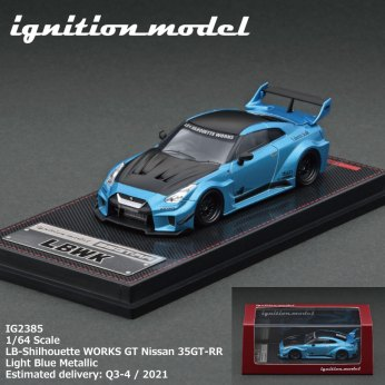 Ignition-Model-LB-Silhouette-Works-GT-Nissan-35GT-RR-Light-Blue-Metallic-004