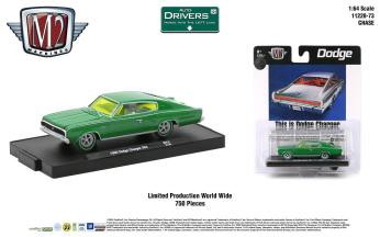 M2-Machines-Drivers-Release-73-1966-Dodge-Charger-383-Chase