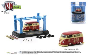 M2-Machines-Model-Kit-Release-38-1960-VW-Delivery-Van