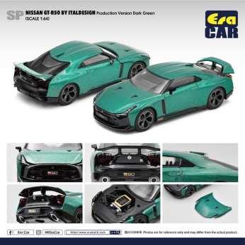 Era-Car-Nissan-GT-R50-By-Italdesign-Pink-Greenish-Dark-Green