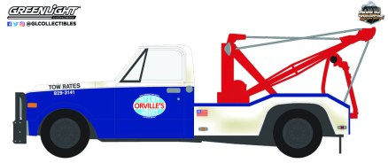 GreenLight-Collectibles-Dually-Drivers-Series-9-1969-C-30-Dually-Wrecker-Orville-s-Day-And-Night-Service