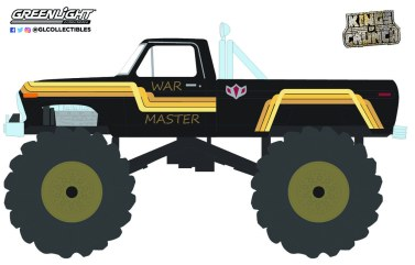 GreenLight-Collectibles-Kings-of-Crunch-Series-10-War-Master-1979-Ford-F-250-Monster-Truck