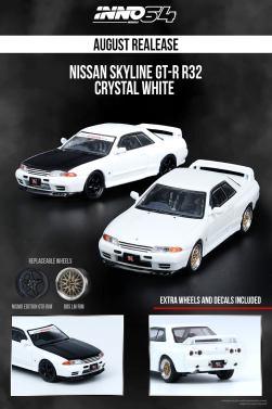 Inno64-Nissan-Skyline-GT-R-R32-White-001