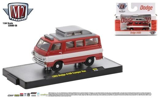 M2-Machines-Detroit-Muscle-56-series-1965-Dodge-A100-Camper-Van