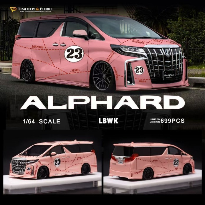 Timothy-and-Pierre-Toyota-Alphard-LBWK-Pink-Pig